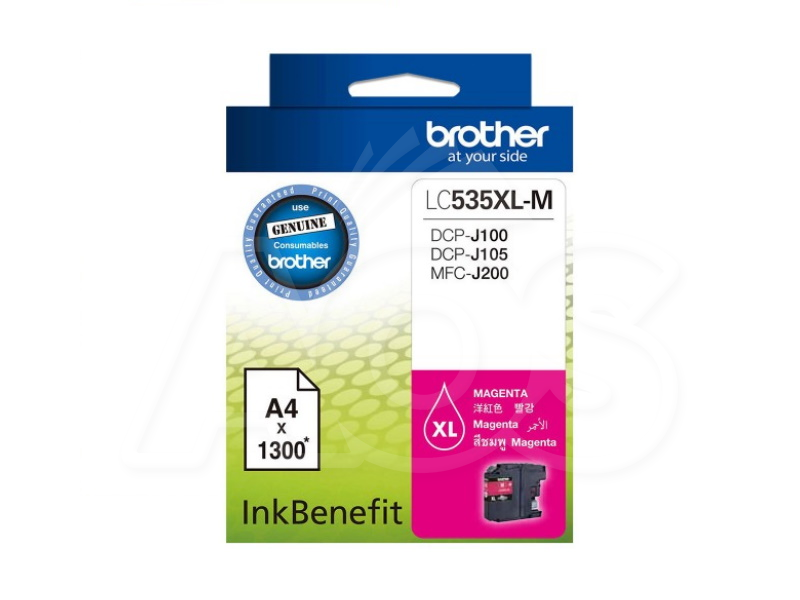 Brother LC535XL-M Magenta Ink Cartridge
